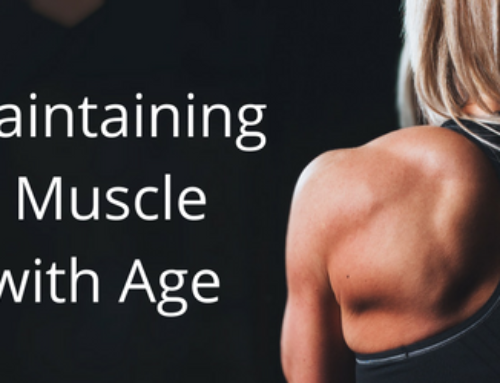 Strategies to Maintain Muscle Mass as You Age